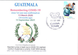 (2A34) 1st Case Of COVID-19 Reported To WHO In Guatemala (18 Month Ago 13-3-2020) (COVID-19 Stamp) - Krankheiten
