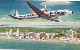 """Eastern Air Lines Golden Falcon (DC-7B) - Dated 1957 - """"GIVE TO YOUR FLIGHT ATTENDANT"""" - 1946-....: Modern Tijdperk"""