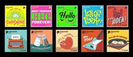 Singapore 2021 Mih. 2755/64 Greetings Stamps MNH ** - Singapore (1959-...)