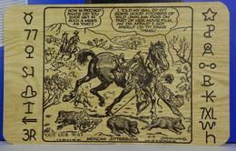 Lot Of 3 Mexican Artist J R Williams Western Cowboy Scenes Vintage Postcards NM - Mexico