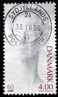 Denmark  2000  Queen Margrethe II 60  MiNr.1238  ( Lot  C  341  ) - Gebruikt