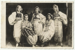 Kosovo Costume Prizren ,foto Rekord,old Postcard - Kosovo