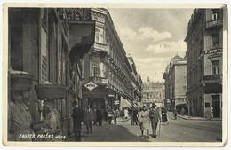 Croatia Zagreb - Zagreb Praska Ulica , Apotheke ,Shop , Market , Old Postcard - Croacia