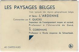 ARDENNE BELGE : Carnet De 39 Cartes De La Série Les Paysages Belges De Quicke Et Coremans - Other