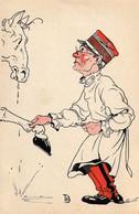 Médecine - Vétérinaire - Dessin Humoristique De Th. B. N°8 - Other