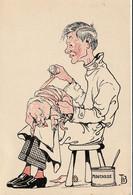 Médecine - Vétérinaire - Dessin Humoristique De Th. B. N°10 - Other