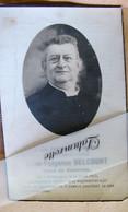 IP. 83. Jules Fulgence Delcourt Curé De Basècles Né à Pâturages Décédé En 1937 - Devotion Images