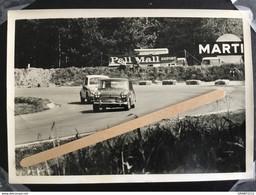 PHOTO ORIGINALE  FIAT ABARTH AUSTIN MINI COOPER AUTO RACE SPA  FRANCORCHAMPS 1960/1970  (12,5 X 9 Cm ) - Cars