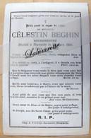 IP. 89. Célestin Beghin Bourgmestre.  Décédé à Thumaide En 1904 - Devotion Images