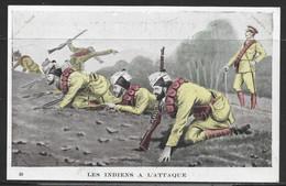 Carte P De 1917 ( Les Indiens A L'Attaque ) - Other
