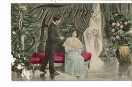 CPA -  Carte Postale -France  Fantaisie Illustration Du Mois De Février - 1905 VM37842ok - Mechanical