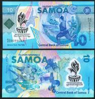 САМОА 10   2019 ПОЛИМЕР  UNC - Samoa