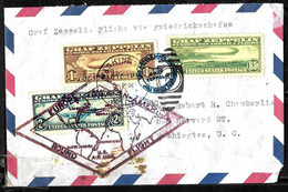 937 - USA - 1930 - ZEPPELIN - FULL SET ON  COVER -   FORGERY, FALSE, FAUX, FAKE, FALSO - Zonder Classificatie