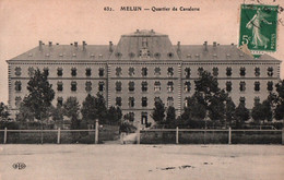 CPA - MELUN - Quartier De Cavalerie … - Edition E.Le Deley - Melun