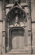 CPA - MELUN - Eglise St Aspais Entrée … - Edition E.Le Deley - Melun