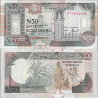 Somalia 1991 - 50 Shillings - Pick R2 UNC - Somalia