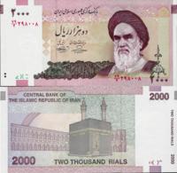 Iran 2005 ND - 2000 Rials - Pick 144 UNC - Iran