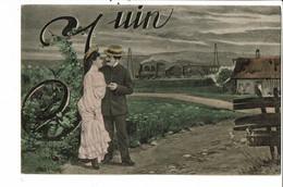 CPA -  Carte Postale -France  Fantaisie Illustration Du Mois De Juin 1905 VM37846ok - Mechanical