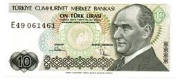Turchia - 10 Lirasi 1979 - Turkey