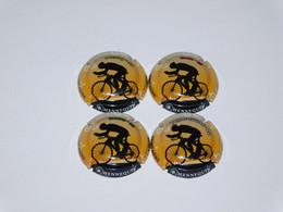 Série De 4 Capsules De Champagne B.HENNEQUIN - Collezioni