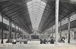 Belgique - GAND - Intérieur De La Gare - Cad GAND SUD Départ - - Other