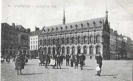 Belgique - COURTRAI - L'Hôtel De Ville - Cad COURTRAI - - Other