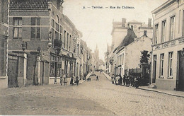 Belgique - TAMISE - Rue Du Château - Cad ANVERS DEPART - 1909 - - Other
