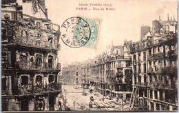 75004 PARIS - La Rue De Rivoli Après Le Siège De 1870 - Arrondissement: 04