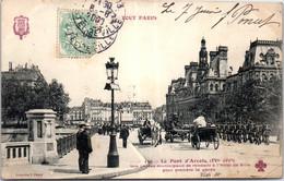 75004 PARIS - Vue Sur Le Pont D'arcole. - Arrondissement: 04