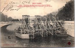 75004 PARIS - Travaux Du Métro, Caissons Pont Au Change - Arrondissement: 04