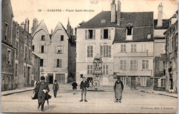 89 AUXERRE - La Place Saint Nicolas. - Auxerre