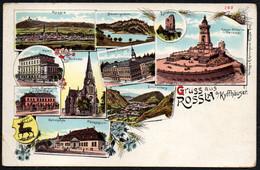 B3566 - Litho Rossla Kyffhäuser - Verlag Kämmerer - Kyffhäuser