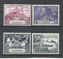 GAMBIA   YVERT  141/44  MNH  ** - Gambia (...-1964)
