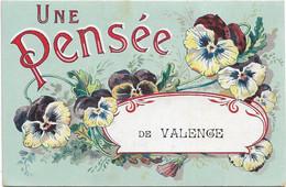 Valence   *  Une Pensée De Valence - Valence