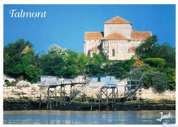 17 - Charente Maritime - TALMONT -  L église Romane Sainte Radegonde - Other Municipalities