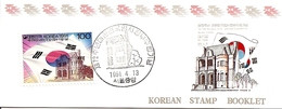 KOREA SOUTH, 1991, Booklet Philatelic Center 63, Provisional Government - Korea, South