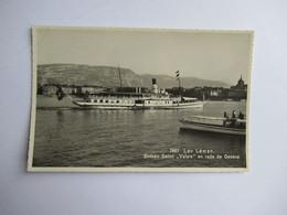 Lac Leman  Bateau Salon ' Valais ' En Rade De Genève  Neuve - GE Geneva