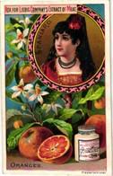 LIEBIG 269English - 6 Cards C1890 English LIEBIG - Fruit And National Beauties Complete Rare Set - Rare Litho Prints - Liebig