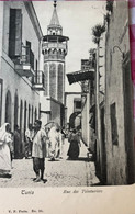 Carte Postale - Rue Des Teinturiers, Tunis - Tunisia