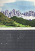 16710   AQUARELLE     LOPPE  LES DOLOMITES   N  ECRITE      28 17CM - Pittura & Quadri