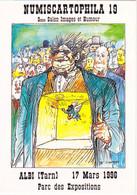 ALBI - 19è Salon NUMISCARTOPHILA -  9è Salon Images Et Humour (17 Mars 1996)  - Dessin De W. Siudmak - Beursen Voor Verzamellars