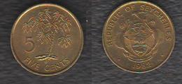 Seychelles 5 Cents 1982 - Seychelles