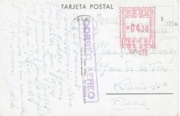 PÉROU - Carte-postale Par Avion - E.M.A.  Lima 2 Mai 1963 - CP Lima Plaza De Armas Con La Catedral - Peru