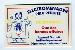 Carte De Visite °_ Carton-Sonodiam-Electroménager-76 Rouen - Visitekaartjes