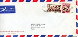 AFRIQUE DU SUD. N°241 De 1961 Sur Enveloppe Ayant Circulé. Koudou. - Other