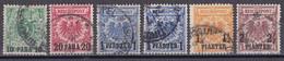 Deutsche Post In Der Türkei 1889  - Mi.Nr. 6 - 10 - Gestempelt Used - Ufficio: Turchia