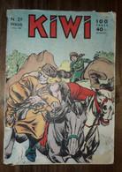 Bd KIWI N° 29   LUG  10/01/1958 Le Petit Trappeur - Small Size