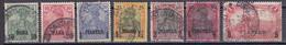 Deutsche Post In Der Türkei 1900/04  - Lot Aus Mi.Nr. 12 - 20 I - Gestempelt Used - Ufficio: Turchia