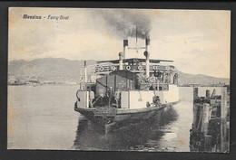 MESSINA FERRY BOAT VG. 1930 N°C238 - Messina