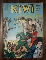 Bd Kiwi N° 35 LUG Le Petit Trappeur  10/07/1958 - Small Size